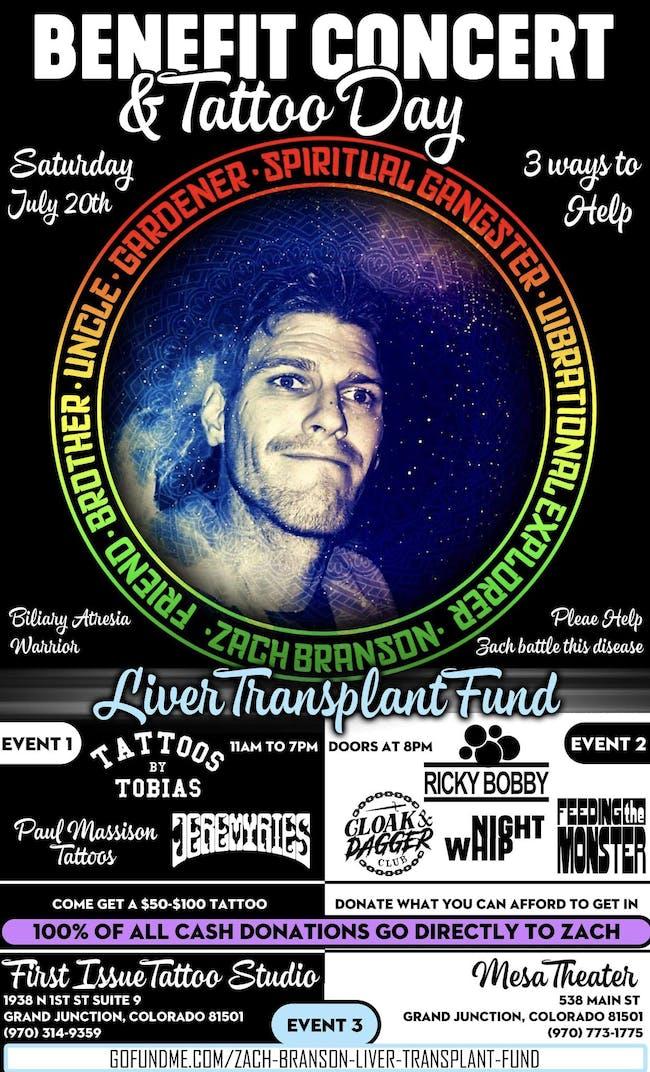 Zach Branson Benefit Concert & Fundraiser