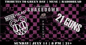 Musehead (Muse & Radiohead tribute), 21 Guns (Green Day tribute)