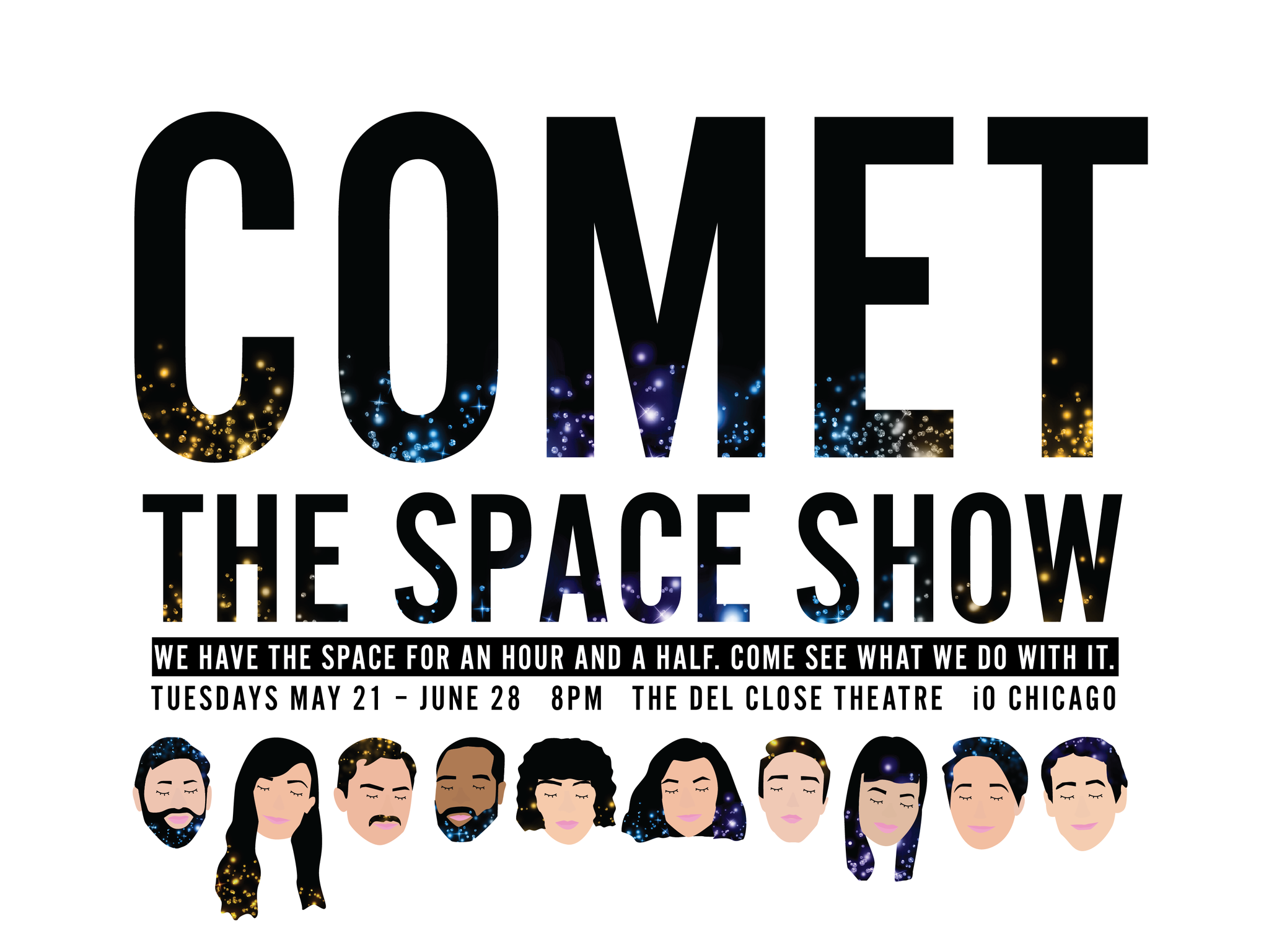 The Space Show with Comet, The Harold Daffodil, Resham Sarkar