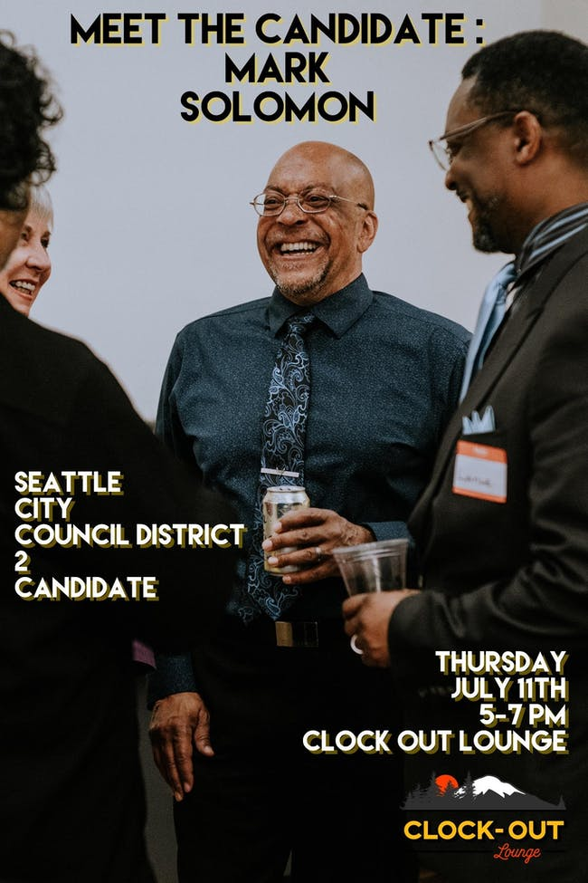 Mark Solomon : Meet The Candidate Event