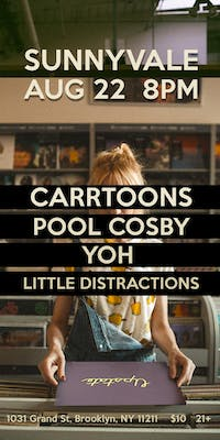 POOL COSBY, CARRTOONS, & YOH, & Little Distractions