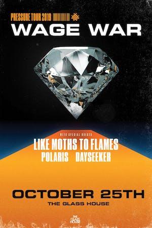 Wage War with Like Moth to Flames, Polaris, Dayseeker