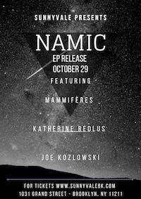 NAMIC,  Mammifères,  Katherine Redlus ,  Caleb Caming and the Heat