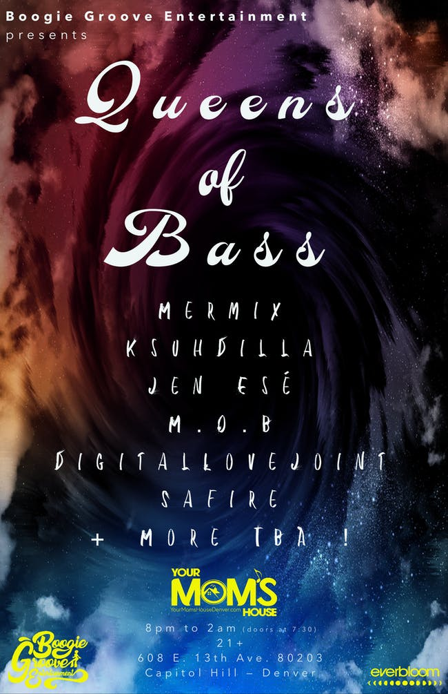 Queens of Bass feat. Mermix // KsuhDilla // Jen Ese' // M.O.B // More