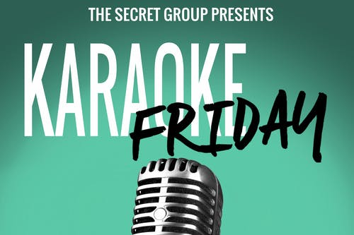 Karaoke Friday!