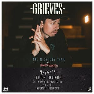 GRIEVES - Mr.Nice Guy Tour