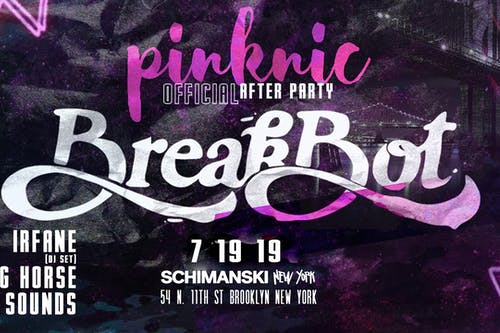 Breakbot (The Official Pinknic Afterparty)