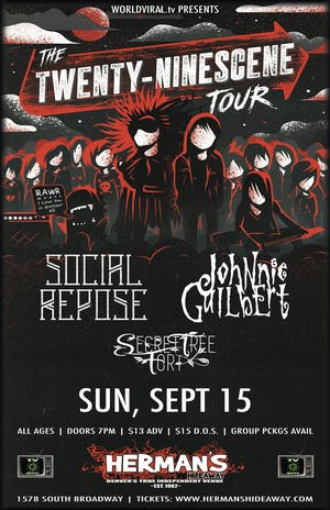 SOCIAL REPOSE | Johnnie Guilbert | Secret Tree Fort | Viewfinders | Paradox