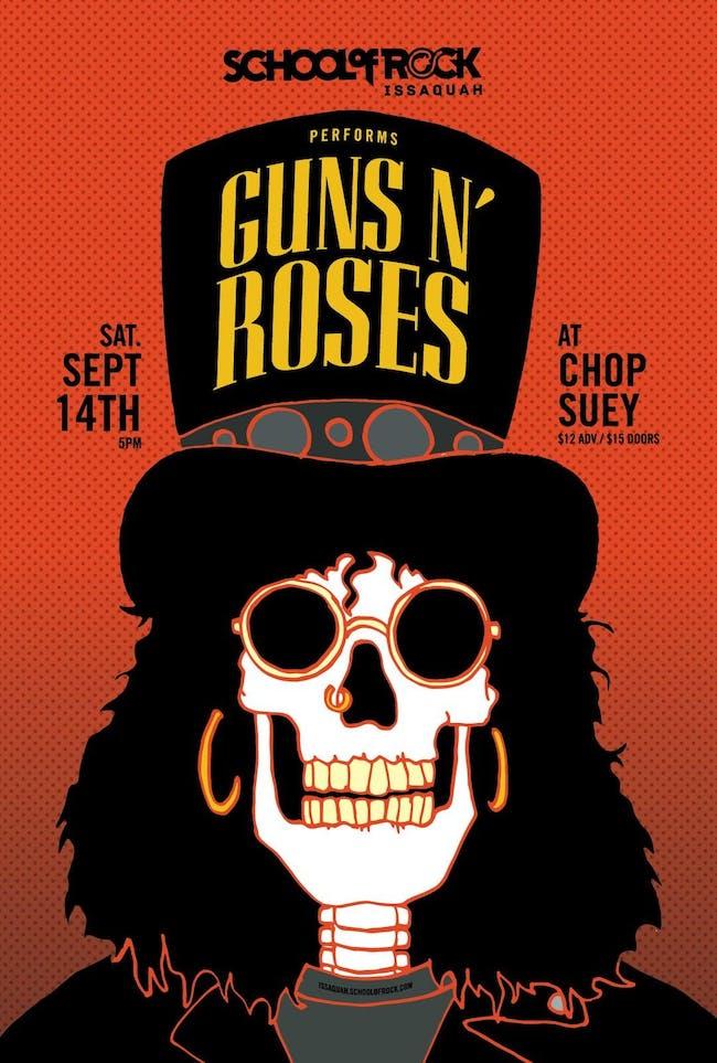 School Of Rock Issaquah: GUNS N' ROSES