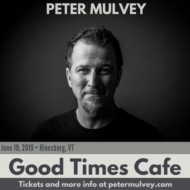 Peter Mulvey at The Parlor Room