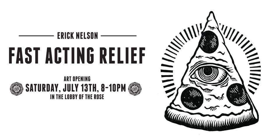Art Opening :: Erick Nelson :: Fast Acting Relief