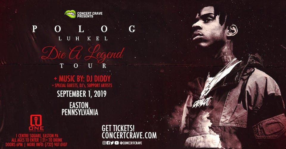 POLO G & LUH KEL Performing Live! - Easton, PA