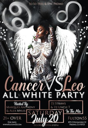 "Cancer VS. Leo ""All White Party"""