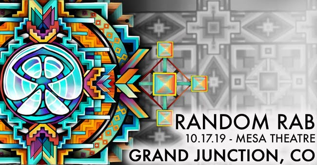 Random Rab – Tickets – Mesa Theater – Grand Junction, CO