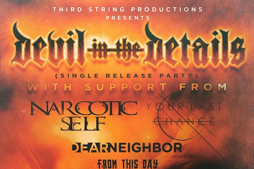 Devil In The Details - Single Release Party at Sokol Underground