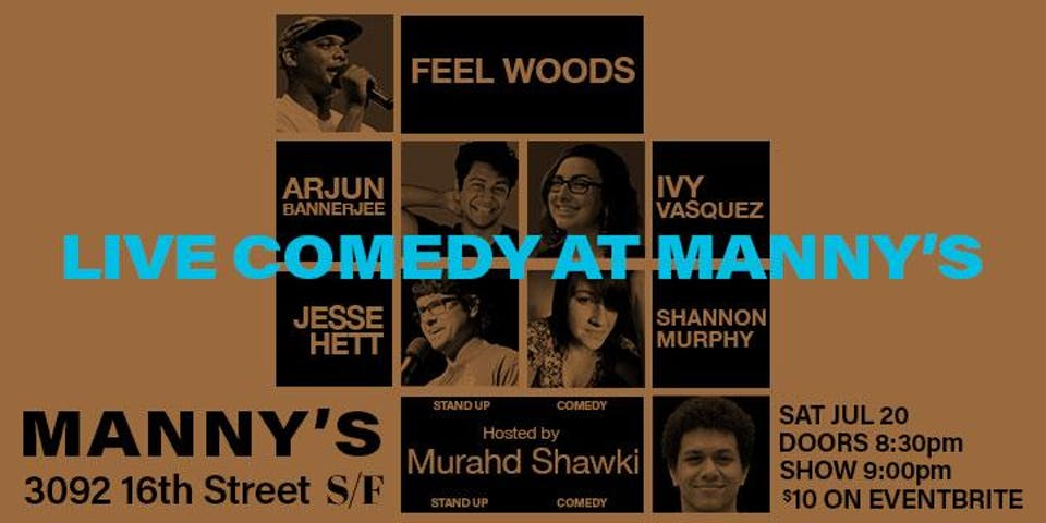Live Comedy at Manny's
