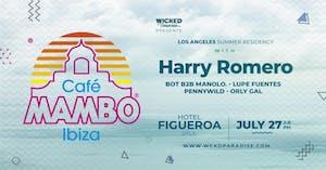 Cafe Mambo Los Angeles POOL PARTY ft. Harry Romero
