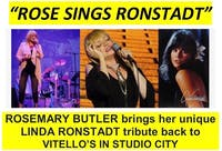 "Rosemary Butler: ""Rose Sings Ronstadt"""