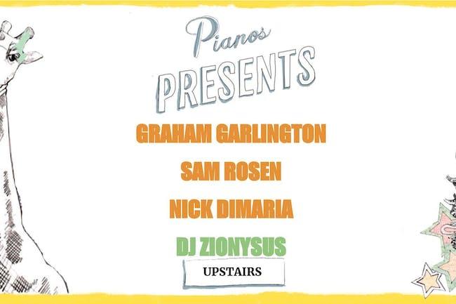 Graham Garlington, Sam Rosen, Nick DiMaria, DJ Zionysus (FREE)