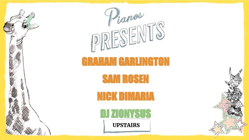 Graham Garlington, Sam Rosen, Nick DiMaria, DJ Zionysus (FREE)