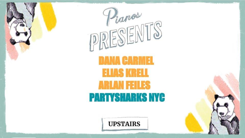 Dana Carmel, Elias Krell, Arlan Feiles, Partysharks NYC (FREE)