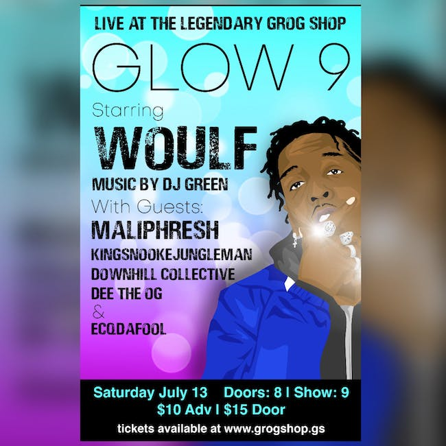 Glow 9  ft. WOULF  / Downhill Collective / Maliphresh