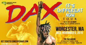 Concert Crave Presents: DAX Performing Live! - Worcester, MA