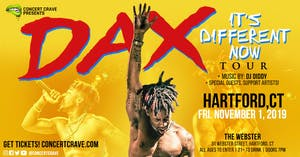 Concert Crave Presents: DAX Performing Live! - Hartford, CT