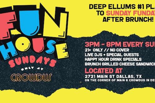Funhouse Sunday at Crowdus Bar