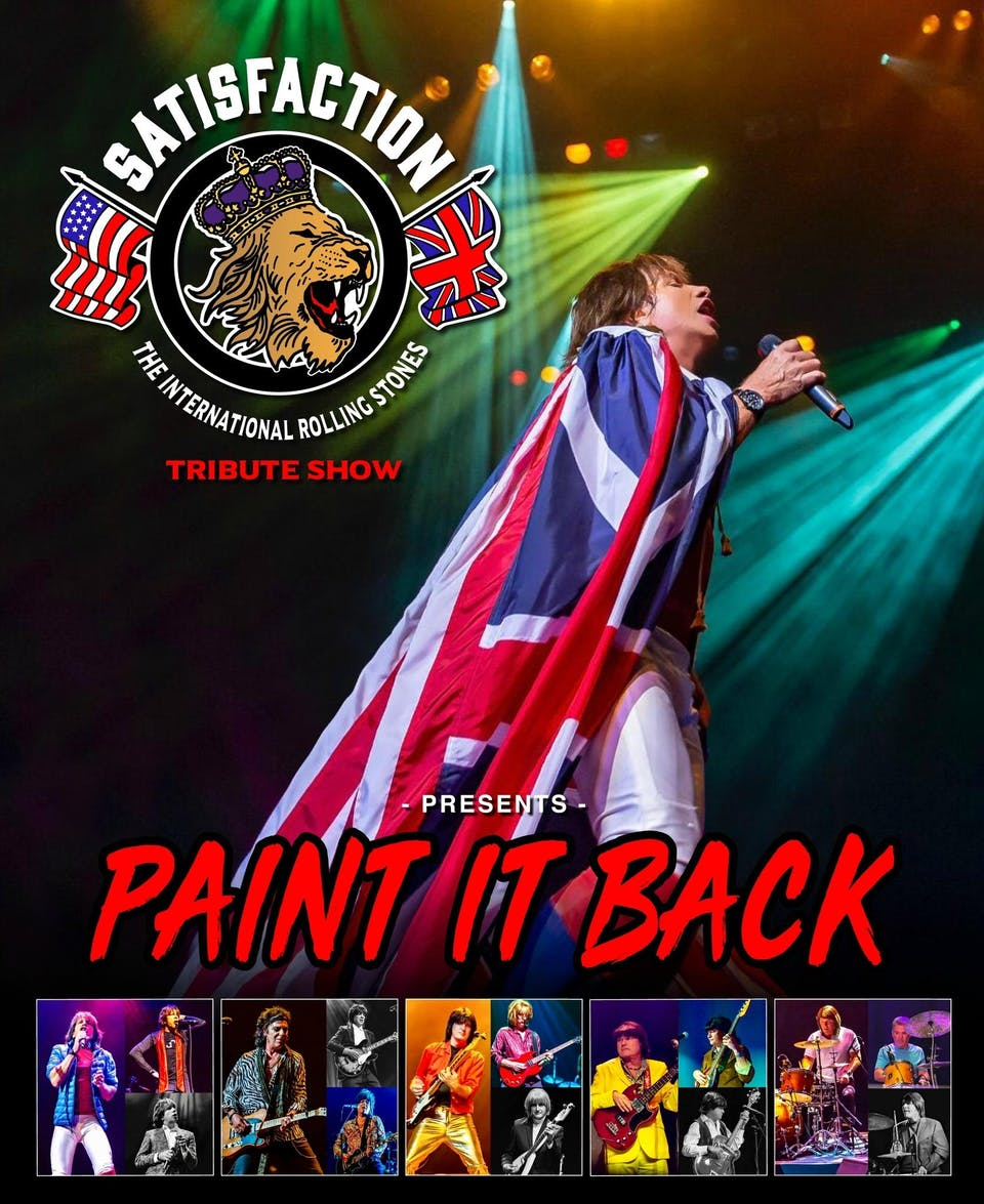 """Satisfaction presents """"Paint It Back-The History of the Rolling Stones"""""""