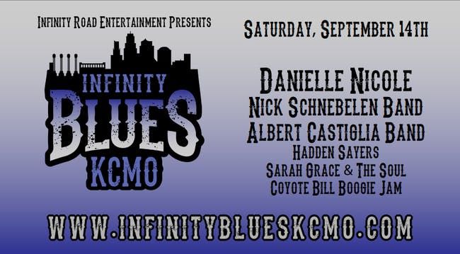 Danielle Nicole Band, Nick Schnebelen Band, Albert Castiglia Band, Sarah Grace & The Soul, Coyote Bill Boogie Jam Infinity Blues Show