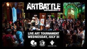 Art Battle San Francisco - July 31, 2019