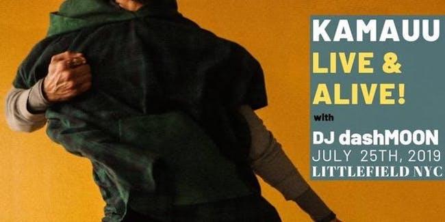 KAMAUU - Live and Alive!