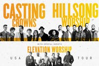 HILLSONG WORSHIP, CASTING CROWNS, ELEVATION WORSHIP USA TOUR