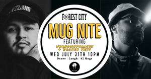 "Forest City ""Mug Nite"" @ BSIDE featuring UnknownPhrases & Broken Keys"