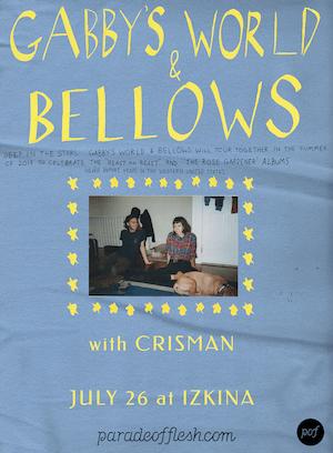 GABBY'S WORLD • BELLOWS • Crisman
