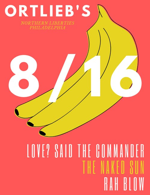 Love ? said the commander / Rah Blow / The Naked Sun