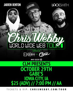 Chris Webby: The Worldwide Web Tour