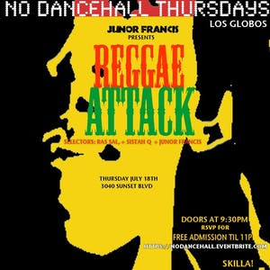 Reggae Thursdays - ReggaeAttack - The Summer Series