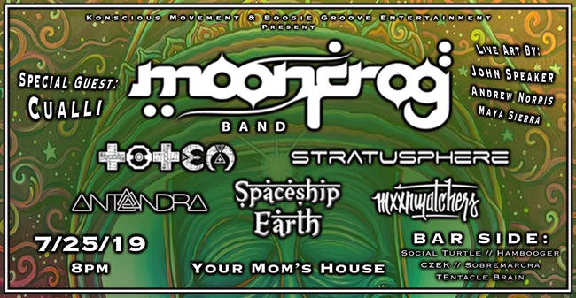 Moon Frog Band at Your Mom's House