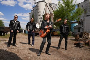 BRIAN SETZER'S ROCKABILLY RIOT at CHAUTAUQUA AUDITORIUM