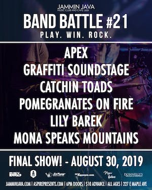 Jammin Java Band Battle #21 - FINAL SHOW!