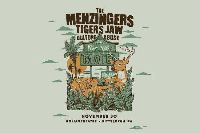 The Menzingers - Fall 2019 Tour