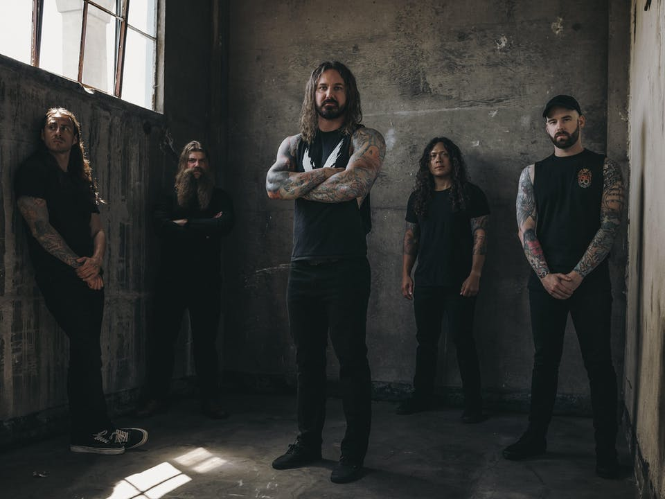 As I Lay Dying - Shaped By Fire Tour Powered By Heart Support