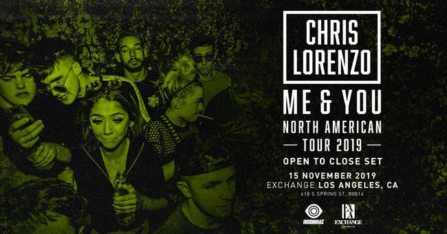 Chris Lorenzo (Open to Close Set)