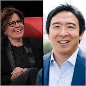 Conversation between Presidential Candidate Andrew Yang + Kara Swisher