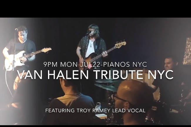 NYC Van Halen Tribute, Sharmila, Emily Beck
