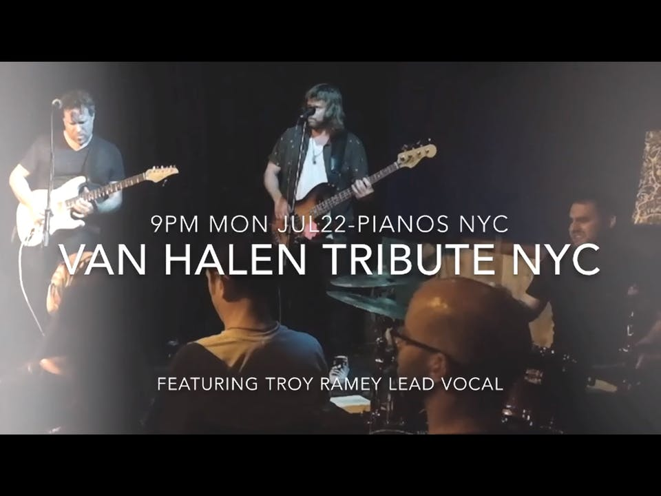 NYC Van Halen Tribute, Sharmila, Emily Beck