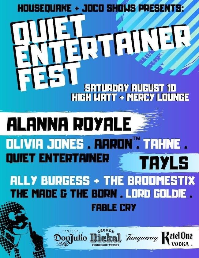 Quiet Entertainer Fest