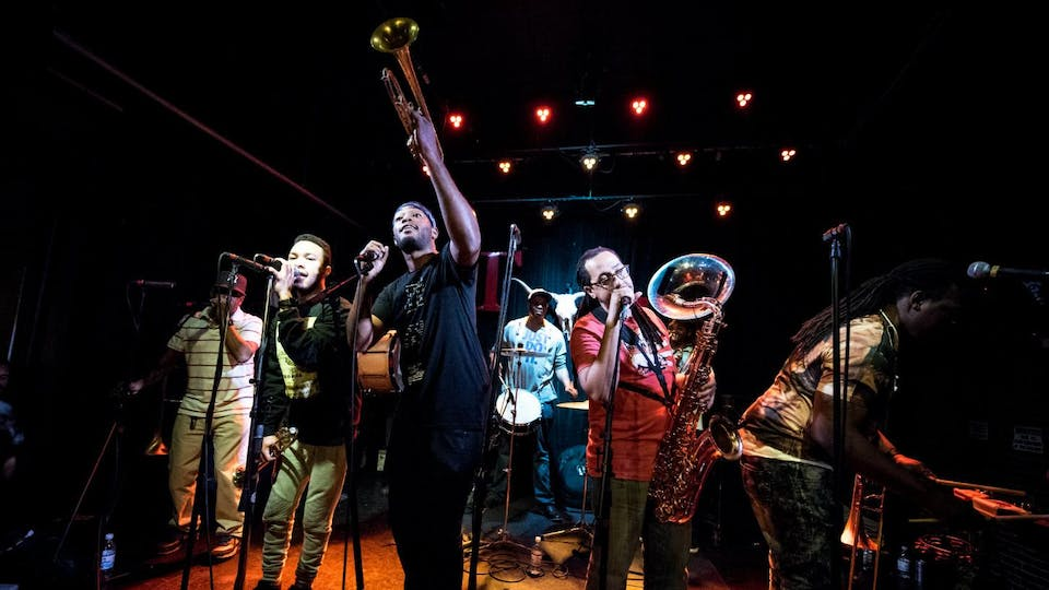Rebirth Brass Band with Roxy Roca
